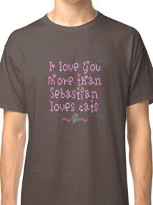 loving kitten Classic T-Shirt