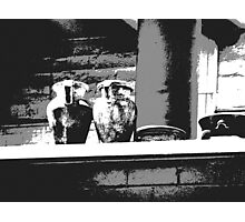 Balcony Notes Photographic Print
