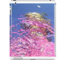 hot pink reflections iPad Case/Skin