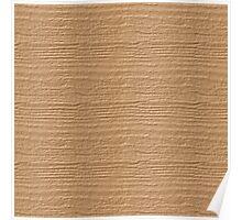 Desert Mist Wood Grain Texture Poster