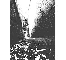 Back Lane Notes Photographic Print