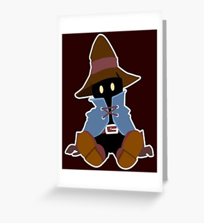 VIVI - Final Fantasy Greeting Card