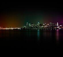 Rainbow City by Roger Branker