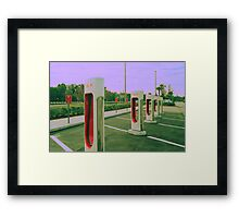 Build it. They will come. Framed Print