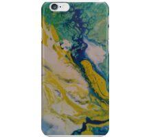 river  liza black art iPhone Case/Skin