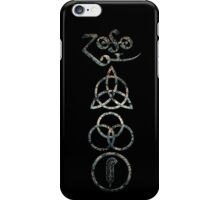 EXTREME DISTRESSED TRIQUETRA - lake michigan V iPhone Case/Skin