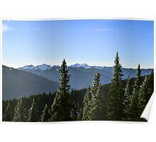 Hurricane Ridge, Olympic National Park, Clallam County, Washington, USA Poster