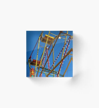 Ferris Wheel Acrylic Block