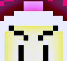 Pixel Bomberman Sticker