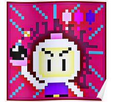 Pixel Bomberman Poster