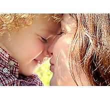 The love of a child Photographic Print
