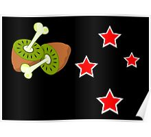 The New New Zealand Flag Poster