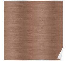 Cafe au Lait Wood Grain Texture Color Accent Poster