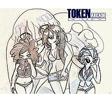 Token Arcade Summer Photographic Print