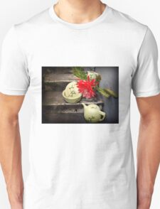 Cactus Flower With Vintage Hall Cactus China T-Shirt