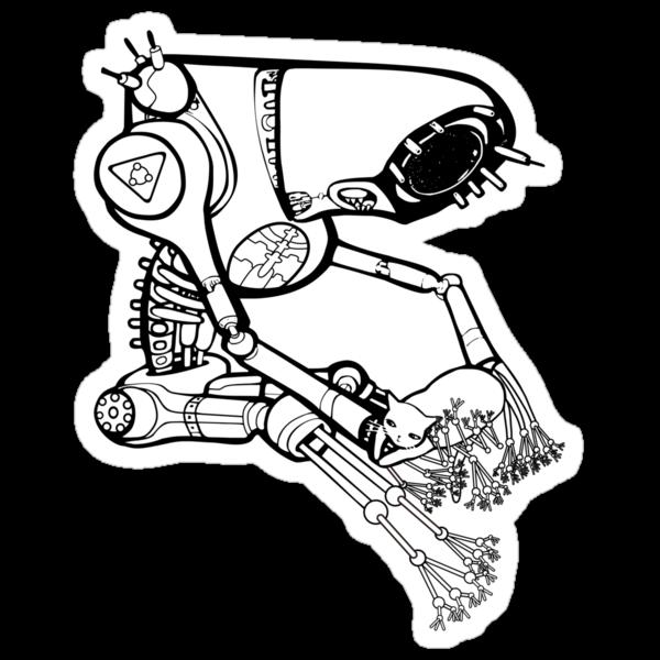 far future vector illustration version by Adew