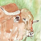 Afrikaner bull by Maree  Clarkson