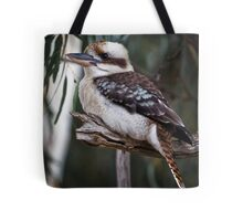 kookaburra sits in the old gum tree Tote Bag