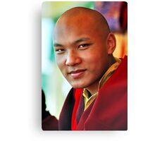 Ogyen Trinley Dorje. Sidphur, India 2004 Canvas Print