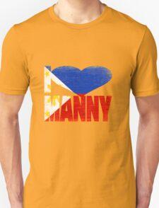 Vintage Grunge I Love Manny Pacquiao Unisex T-Shirt