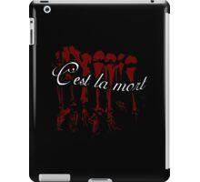 C'est La Mort iPad Case/Skin
