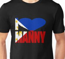 I Love Manny Pacquiao Pinoy Pride Unisex T-Shirt