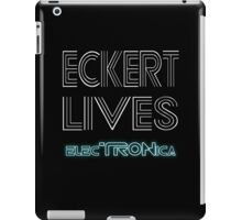 Eckert Lives (Text Only) iPad Case/Skin