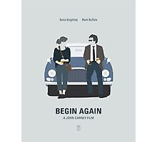 Begin Again Photographic Print