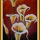 Happy Mother's Day -  White Calla Lilies by taiche