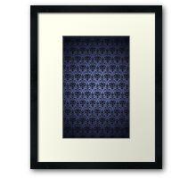 Haunted Mansion Wallpaper Framed Print