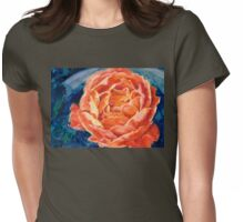 Passion Rose Womens Fitted T-Shirt