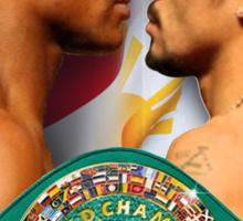 Pacquiao vs Mayweather WBC Sticker