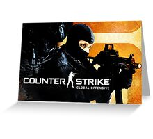 CS:GO Action Logo Greeting Card