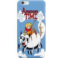 Adventure of time: The Last Air Bender iPhone Case/Skin