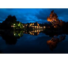 Cradle Mountain Lodge at night Photographic Print