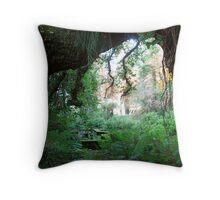 A Vista through the Spanish Cork Tree Throw Pillow