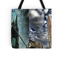 steeples. melbourne, australia Tote Bag