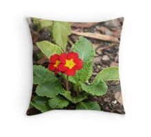 Perfect Primrose  Throw Pillow