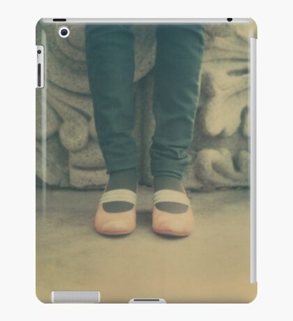 Standing her ground iPad Case/Skin