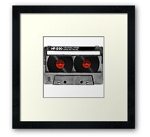 Cool Cassette Tape Framed Print