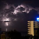 Mooloolaba Storm - 4 by Newsworthy