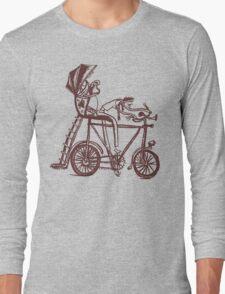 mr. rick shaw Long Sleeve T-Shirt