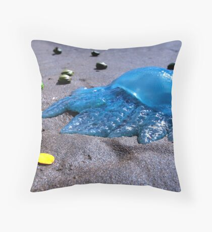 Blubber of the Sea Throw Pillow