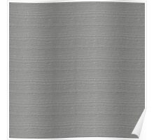 Silver Wood Grain Texture Color Accent Poster
