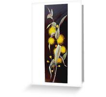 Silver Wattle Greeting Card