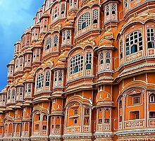 Hawa Mahal, Jaipur by Mukesh Srivastava