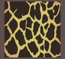 Giraffe Skin Pattern Kids Clothes