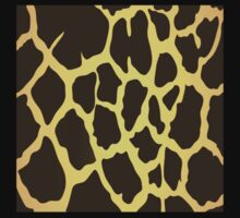 Giraffe Skin Pattern Kids Clothes
