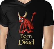 Born to be Dead-  Demon Mens V-Neck T-Shirt