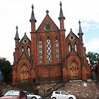Beautiful old church in the historic town of Castlemaine Vic Aust by Margaret Morgan (Watkins)